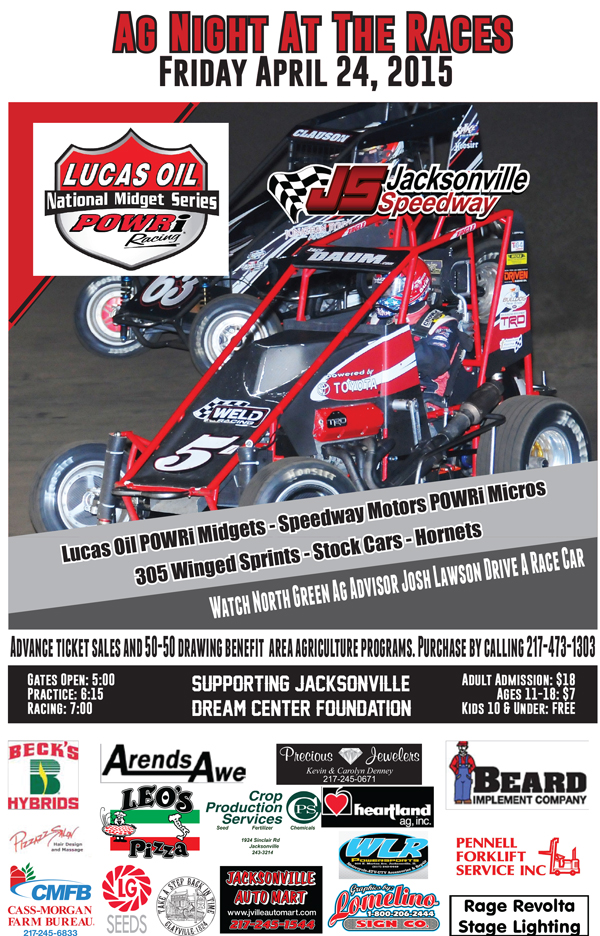 POWRi Midgets Headline April 24th | Jacksonville Speedway Official ...