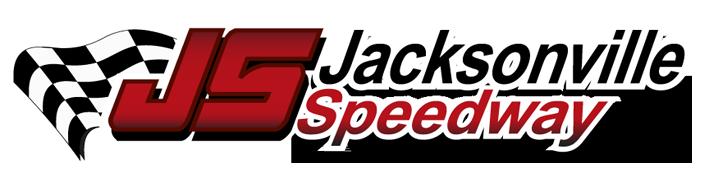 Jacksonville Speedway Official Site, Jacksonville Illinois Retina Logo