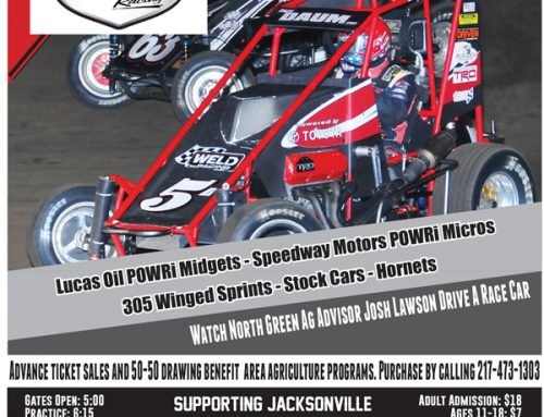 POWRi Midgets Headline April 24th